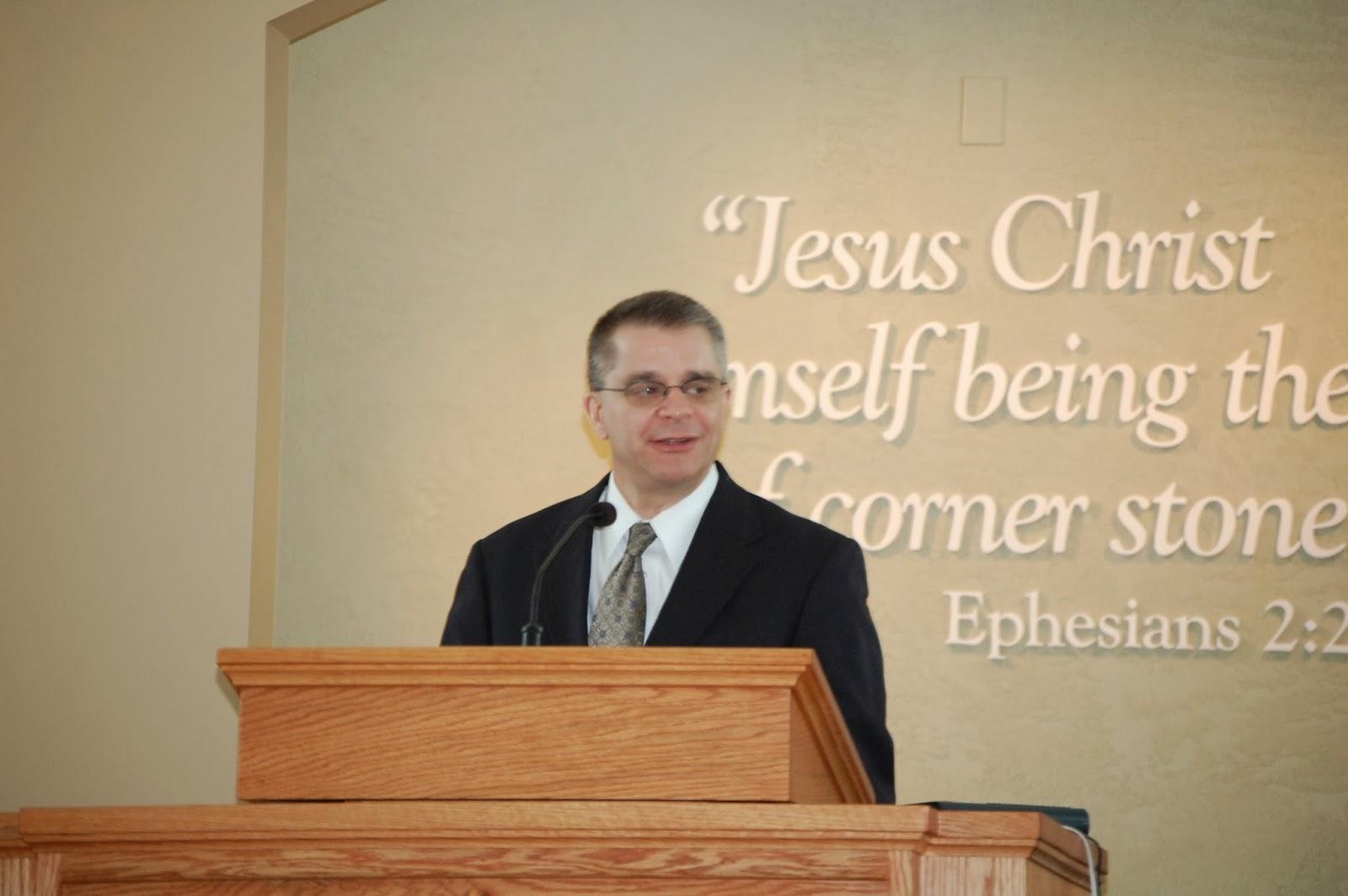 Pastor Jack Britt - Cornerstone Bible Baptist Church - Sanborn, New York