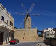 Ta' Kola Windmill Malta