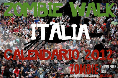 Zombie Walk Italia: Calendario 2012