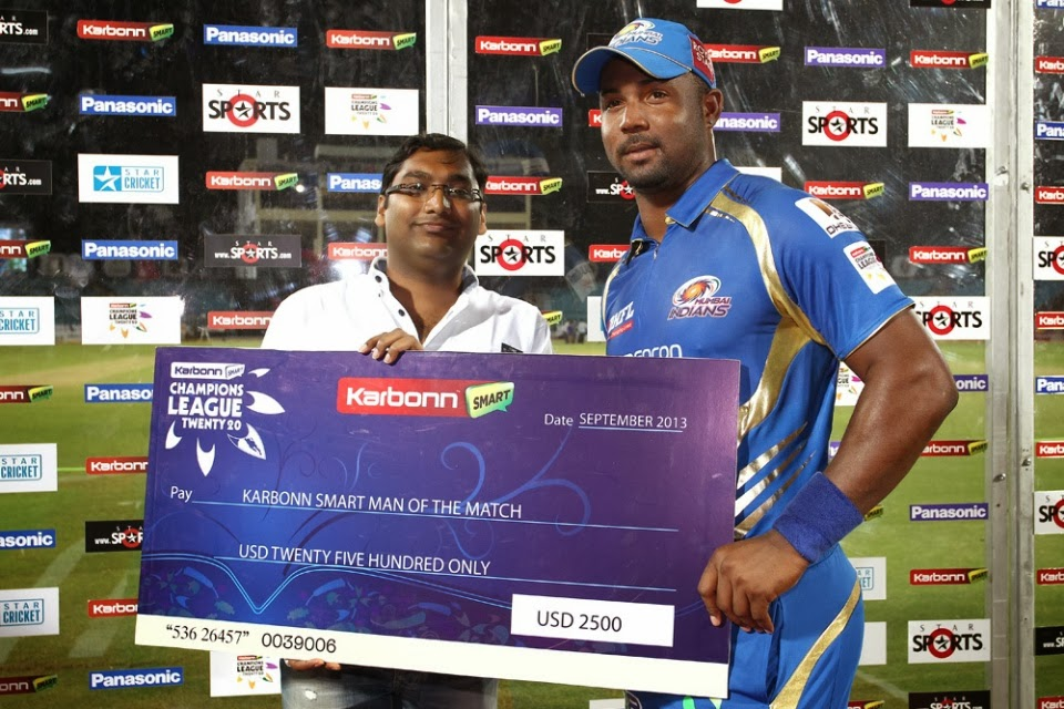 Dwayne-Smith-Man-of-the-Match-Mumbai-Indians-vs-Highveld-Lions-M11-CLT20-2013