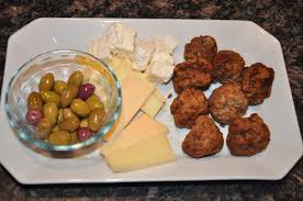 Greek picnic lunch