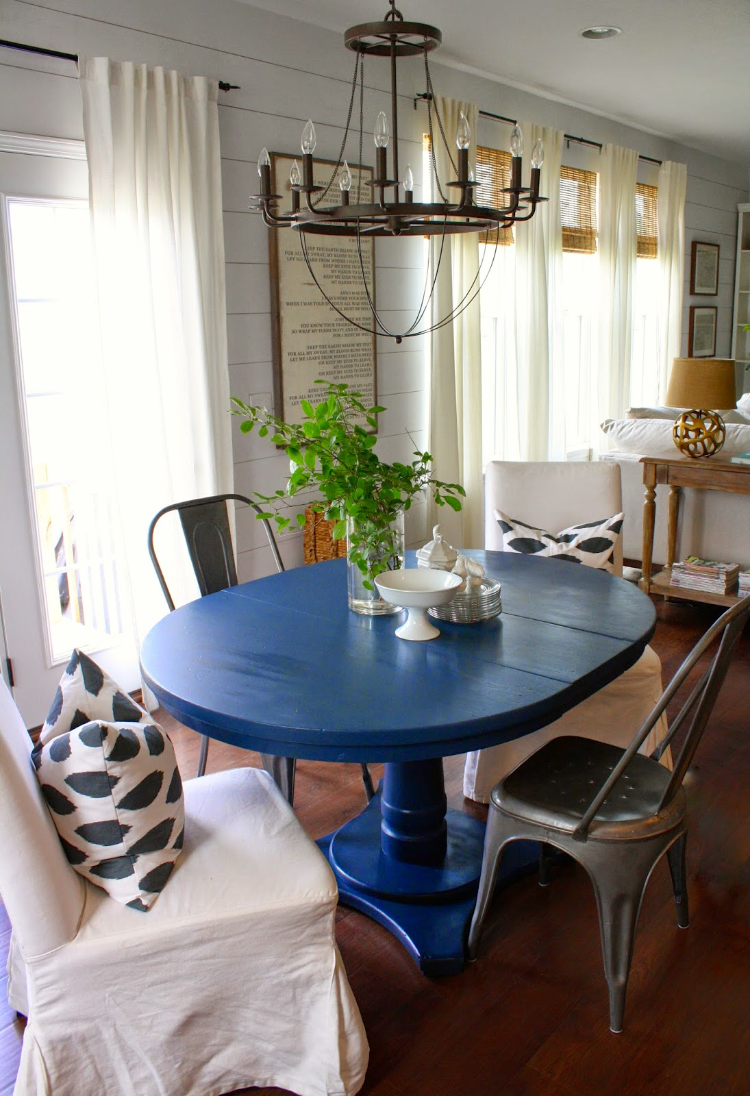 interesting navy blue and white dining room. Navy Blue Dining Table  House Seven design build