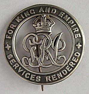 Silver War Badge