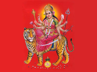 Maa Durga Greetings Wallpapers