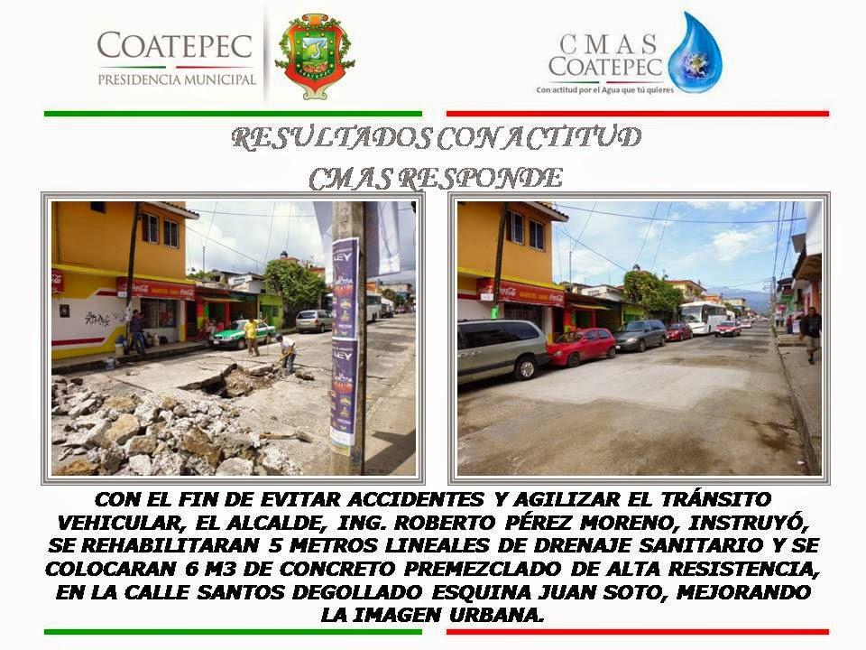 CON RESULTADOS, CMAS COATEPEC RESPONDE A LA SOCIEDAD