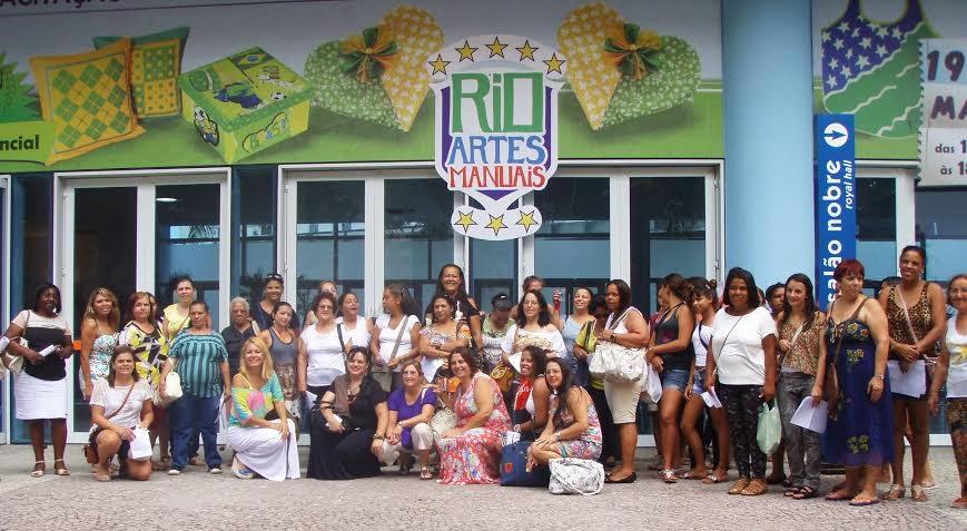 Alunos e professores de Teresópolis participam do 8° Rio Artes Manuais