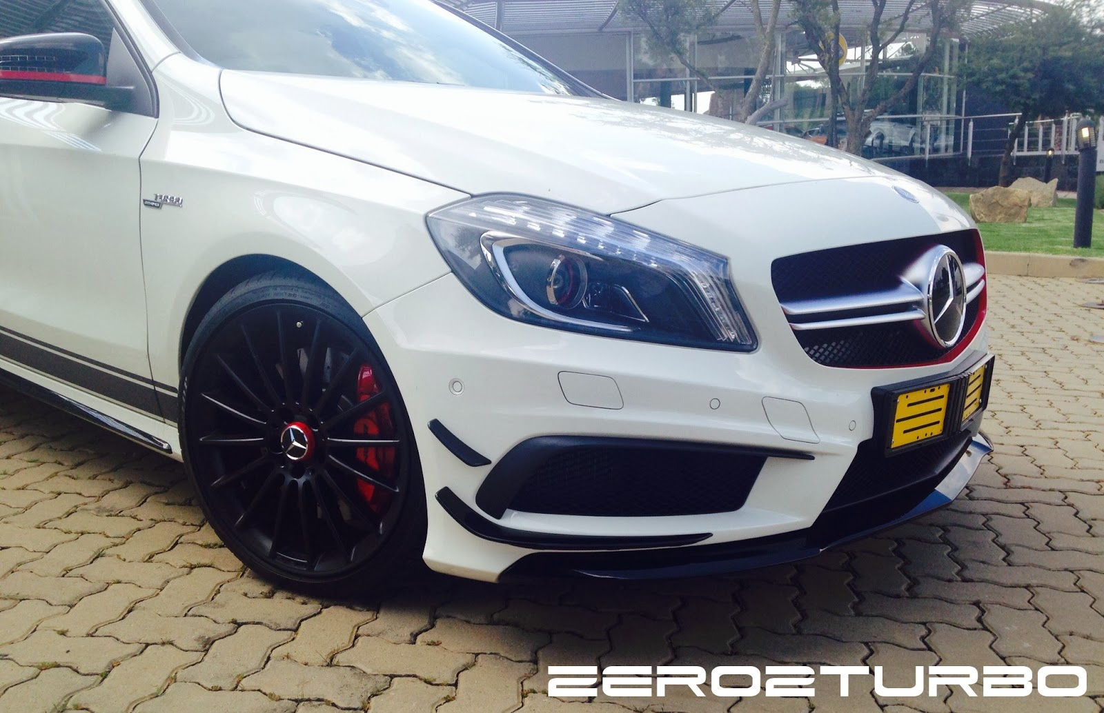 Driven mercedes benz a45 amg edition 1 for Mercedes benz south africa