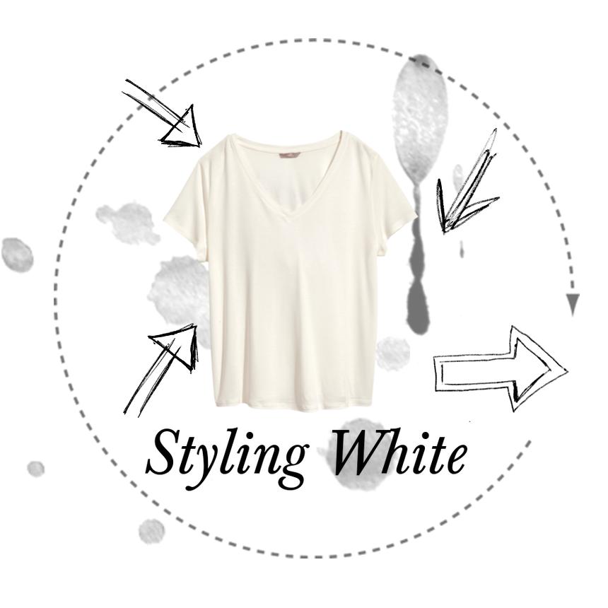 Styling White♡