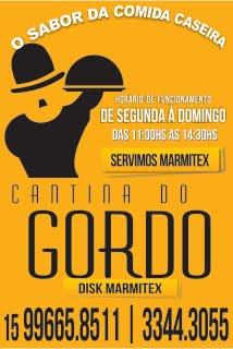 Disque-marmitex Cantina do Gordo