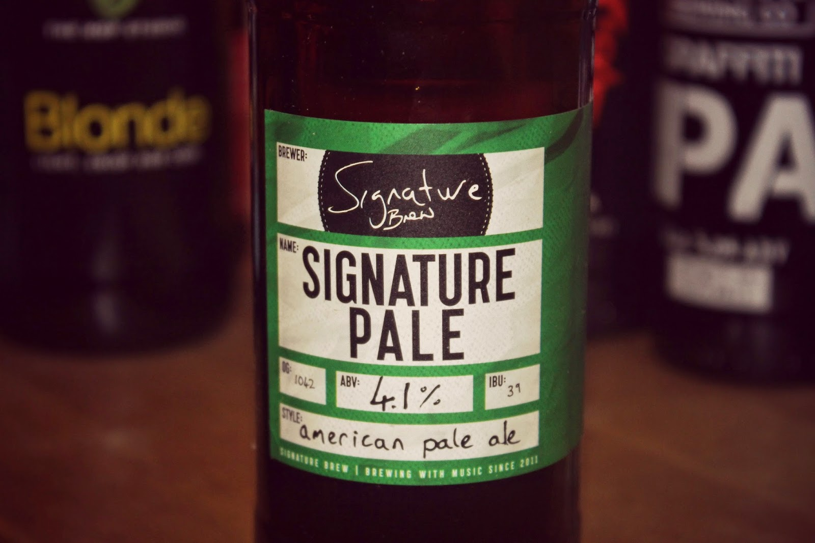 Signature Pale Ale Beer 52