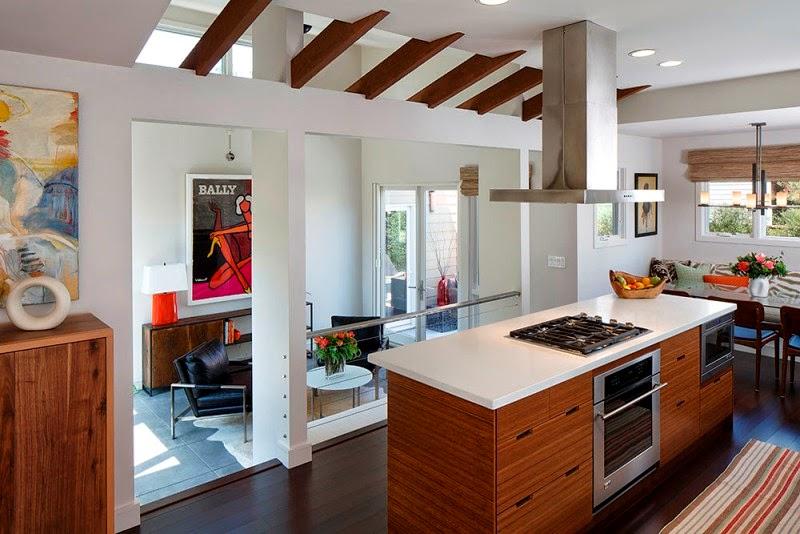 Hogares frescos encantadora casa de campo con un c lido for Diseno de casas de campo modernas