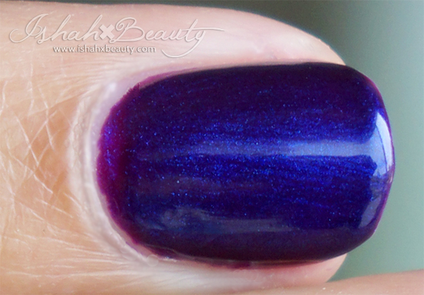 swatches and review eggplant frost nail polish