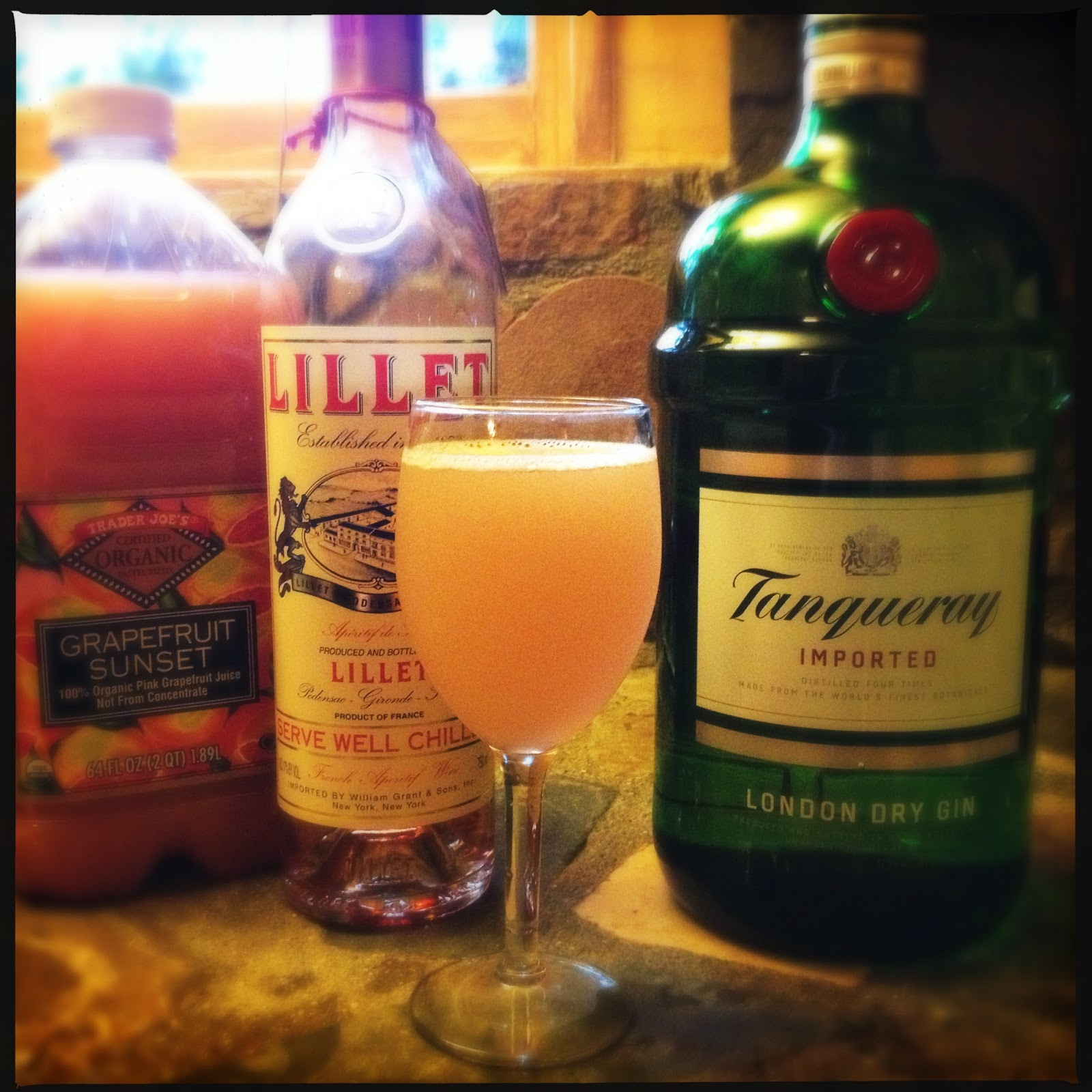 lillet rosé spring cocktail ingredients 2 oz lillet rosé 2