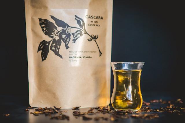 Cascara Tee der Tee aus Kaffeekirschen