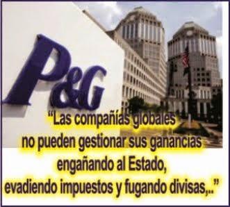 MUNDO: P&G (Procter & Gamble) Sancionada en Argentina por fraude fiscal