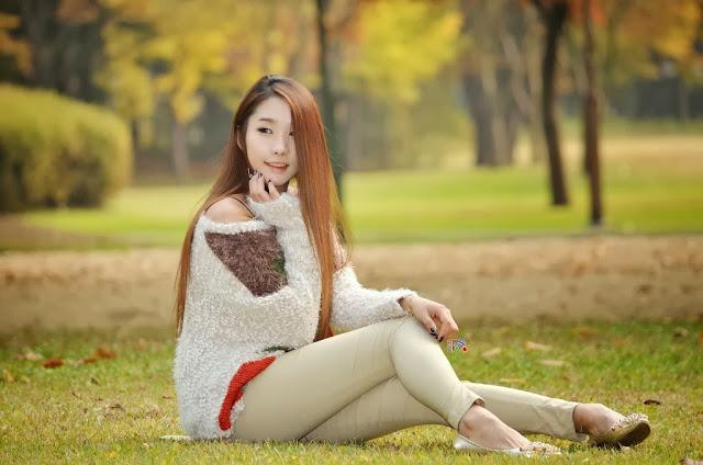 2 Jeon Da Huin Autumn - very cute asian girl-girlcute4u.blogspot.com