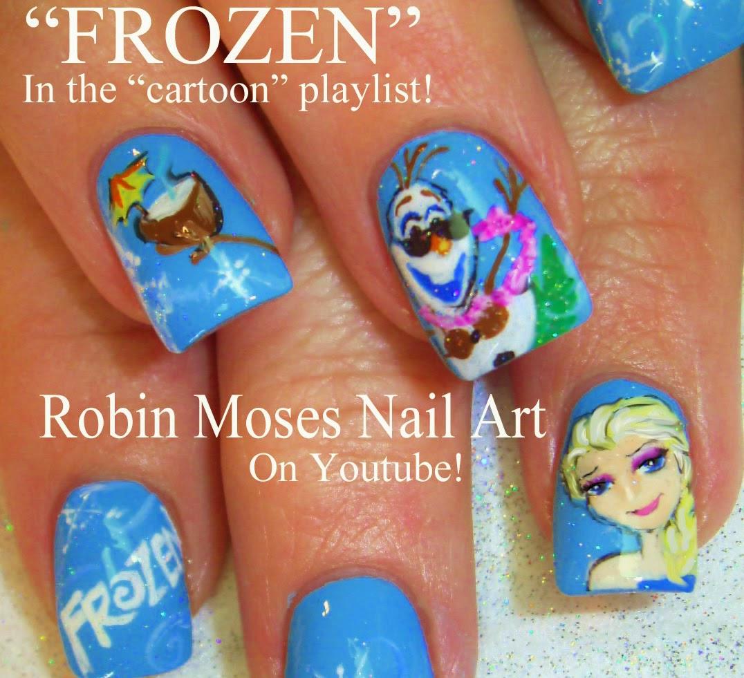 Disney Princess Nail Art: Robin Moses Nail Art: May 2013