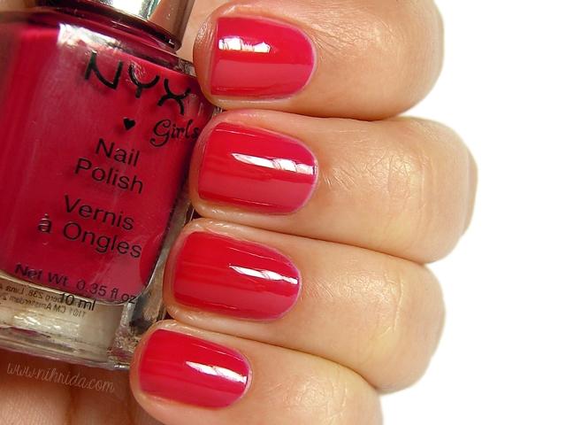 NYX Girls - Vintage Red