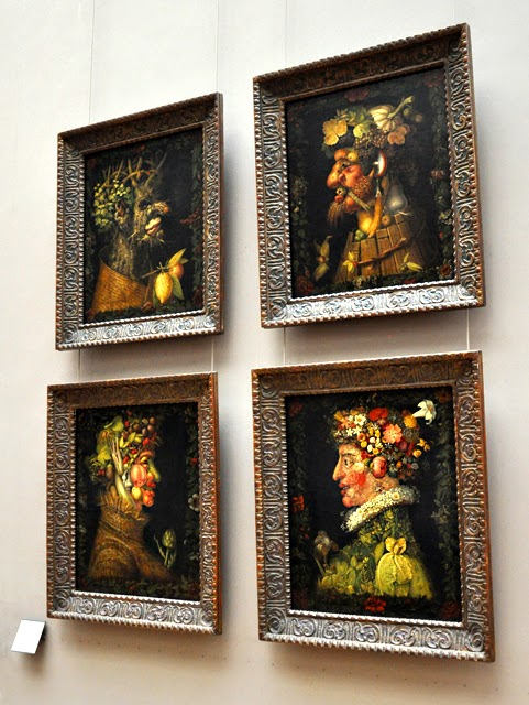 Four Seasons, Guiseppe Arcimboldo, Louvre | Photo: Barry Holland
