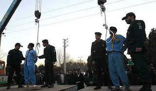 Two Public Executions in Zanjan