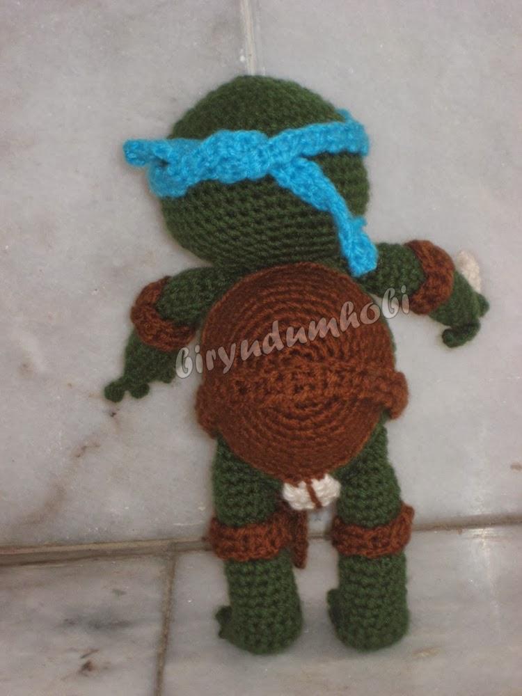 amigurumi ninja turtle leonardo biryudumhobi-aciklamali ...