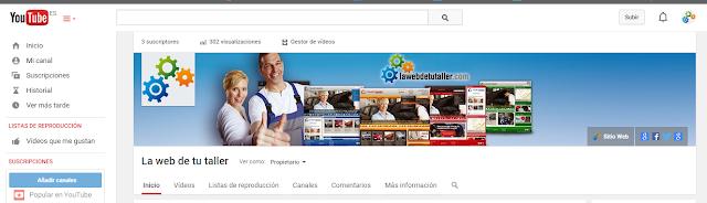 Aprende a utilizar Youtube con facilidad con Blogmecanicos escrito por María Callizo Monge