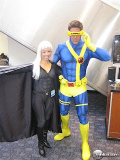 World Toy Brasil: Cosplay - Cyclops e Jean Grey
