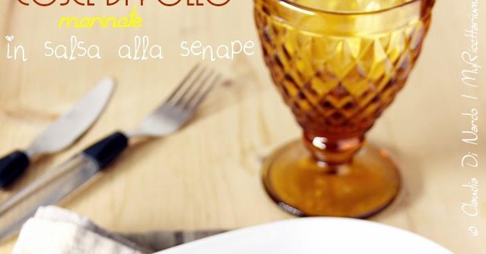 My ricettarium cosce di pollo marinate in salsa alla senape - Come cucinare le cosce di pollo in padella ...