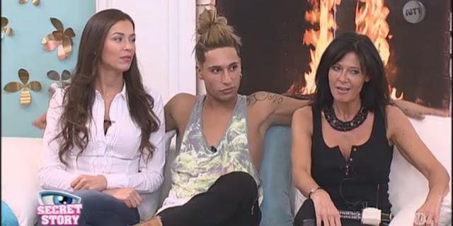 Secret Story 9 - Julie, Eddy et Nathalie annoncent le premier immunisé de la semaine.