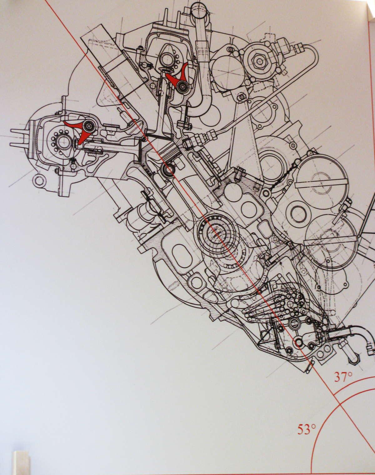 Ottonero on Knucklehead Engine Drawings