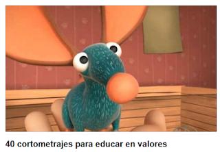 http://www.educaciontrespuntocero.com/recursos/cortometrajes-educar-en-valores/16455.html