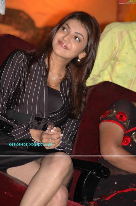 Kajal Agarwal Showing White Panty2 Jpg