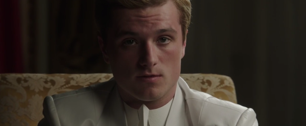 first mockingjay part one clip peeta mellark official
