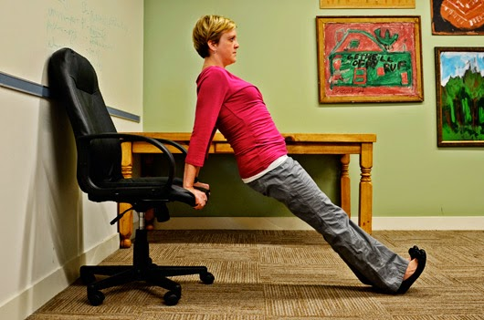 Desk Dips and Leg Lifts