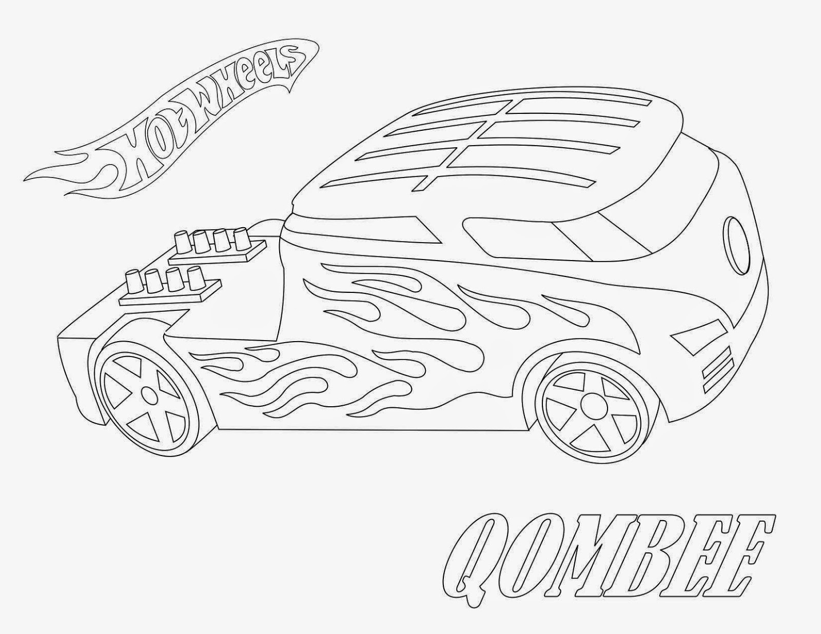 Hot Wheels Coloring Pages 53