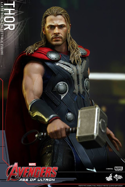 Marvel Universe Hot Toys Thor Avengers Age of Ultron