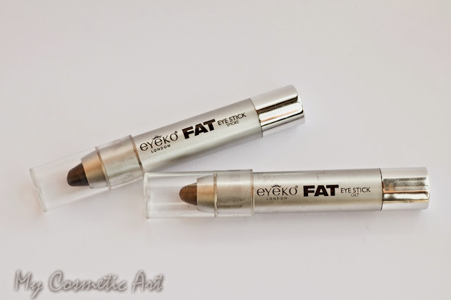 Sombras de ojos FAT de Eyeko. Formato lápiz jumbo.