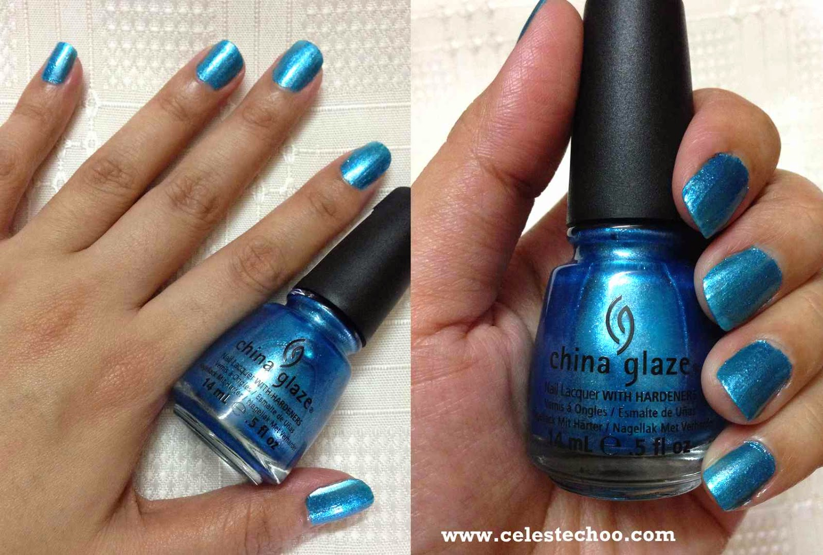 CelesteChoo.com: China Glaze Nail Polish in \'So Blue Without You\' Shade