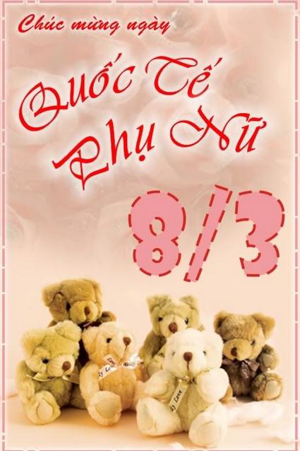 Nhung Loi Chuc Mung 8/3 Hay Nhat Tặng Vợ-Bà Xã Ngày Phụ Nữ Quốc Tế