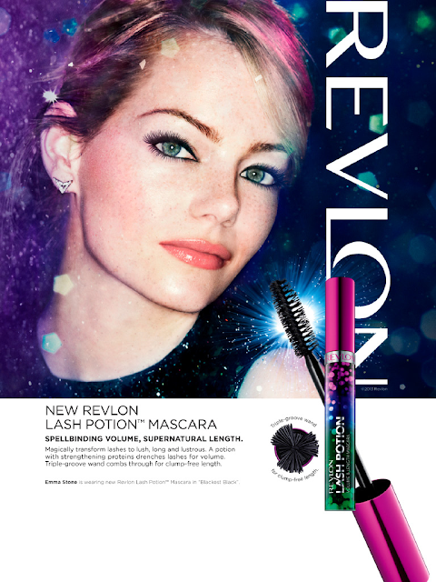 Revlon Grow Luscious Lash Potion Mascara Ad