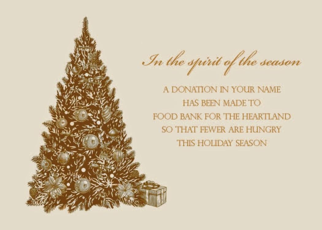 Feeding The Heartland Holiday Greeting Card Program