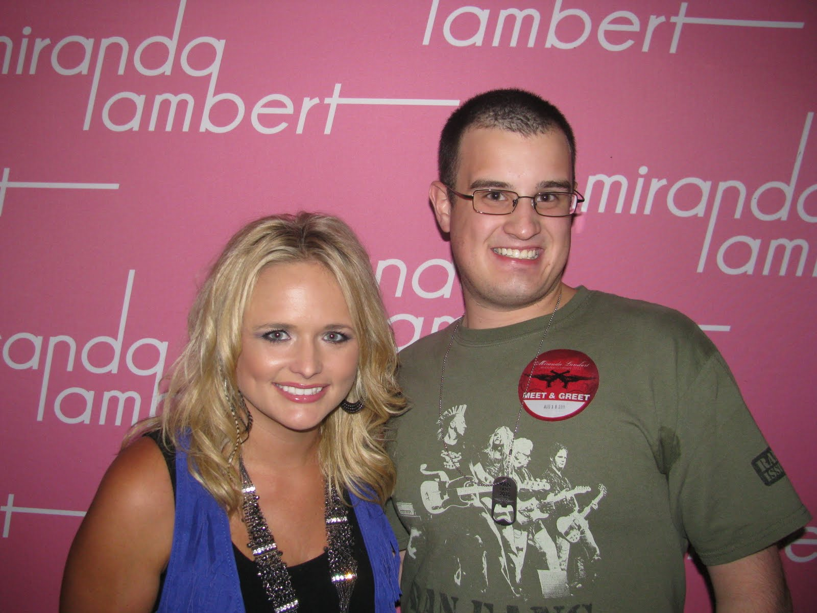 Chriss blog miranda lambert us cellular pavilion saturday gilford nh cant wait to see her its been 3 years i will enter the meet and greet this saturday and i know m4hsunfo