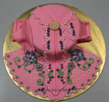 CAKE FONDANT KEBAYA