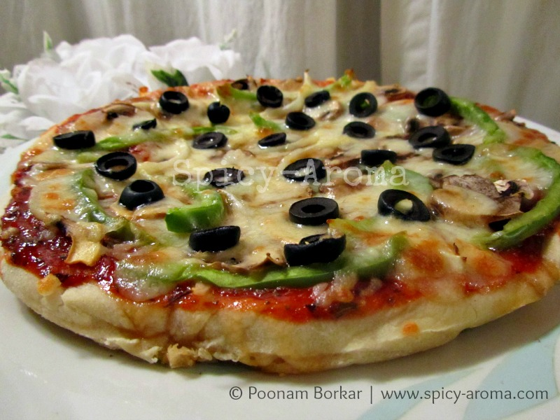 Enjoy This Delicious Homemade Pizza With Your Loved Ones