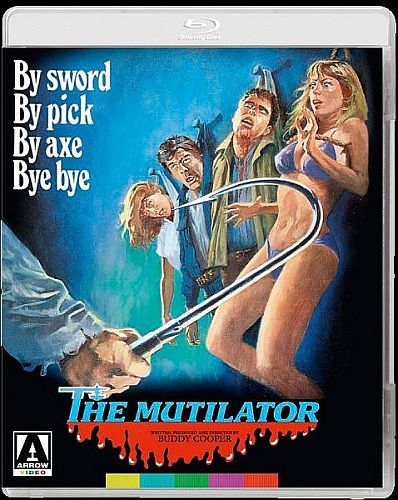 The Mutilator Blu-ray cover