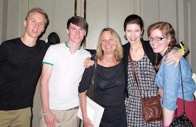 With Paula Scher