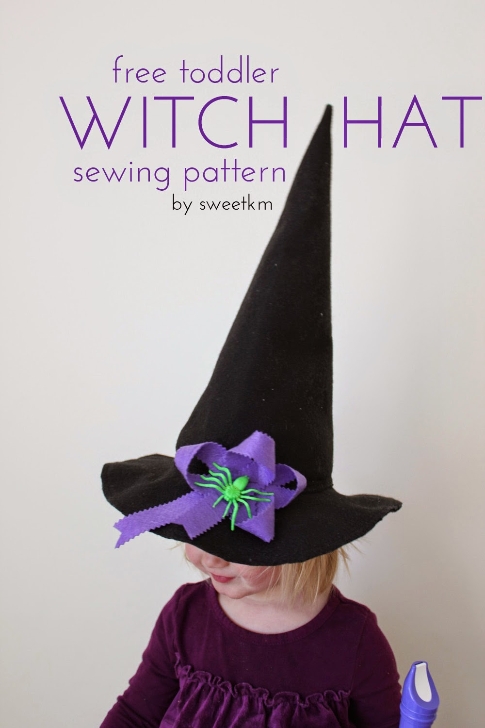 Sweetkm free toddler witch hat sewing pattern free toddler witch hat sewing pattern jeuxipadfo Image collections