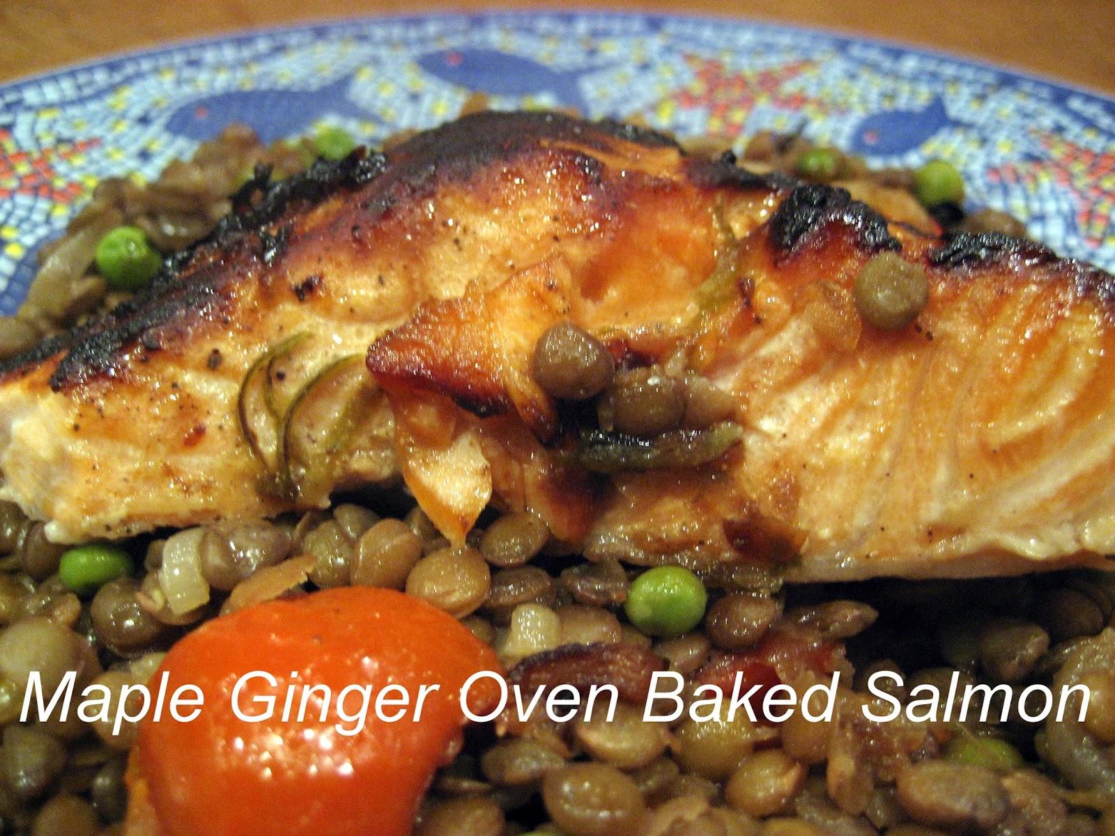 Diet easy dinner maple salmon fish recipe