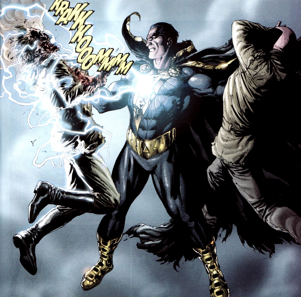 Shazam Vs Black Adam Wallpaper