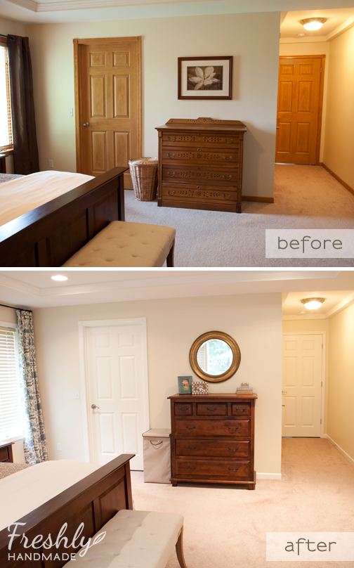 Freshly Handmade Summer Spruce Up Master Bedroom Final Reveal